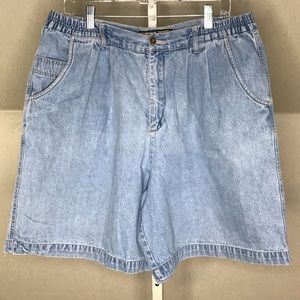 Vintage 80s/90s Denim High Waist Mom Shorts